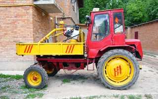 Трактор т 16 описание характеристика