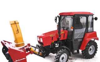 Роторный снегоуборщик на трактор мтз