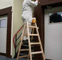 Как сделать деревянную лестницу стремянку своими руками