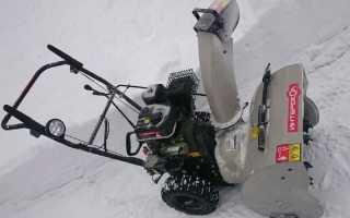 Снегоуборщик бензиновый интерскол смб-650э