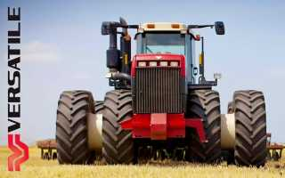 Buhler versatile трактор 2375sl