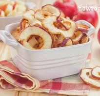 В чем заключается польза и вред сушеных яблок
