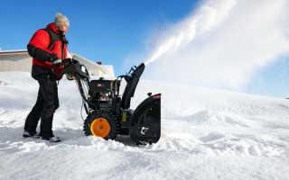 Как убирать снег мотоблоком
