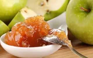 Простой рецепт повидла из яблок на зиму